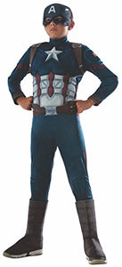 Marvel's Captain America: Civil War - Deluxe Muscle Chest Captain America Costume for Kids