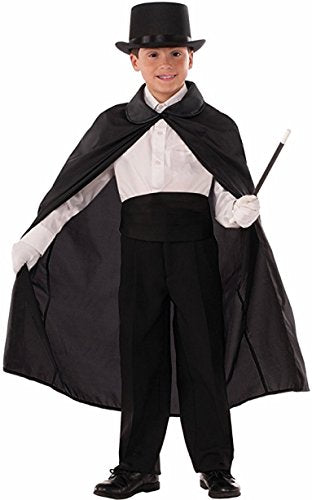 Forum Novelties Child Magician's Cape Costume, Black, 36