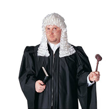 Load image into Gallery viewer, Costume Culture Men's Judge Wig Deluxe