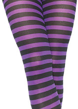 Load image into Gallery viewer, Leg Avenue Women's Nylon Striped Tights