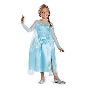 Disney's Frozen Elsa Snow Queen Gown Classic Girls Costume, Medium/7-8