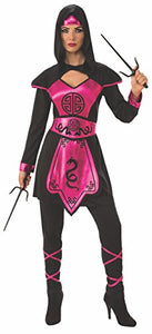 Pink Ninja Warrior Costume for Women