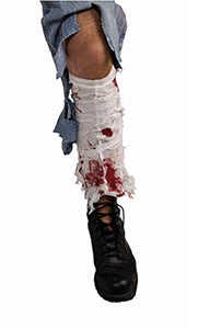 Halloween Costume Forum Novelties Bloody Leg Bandage