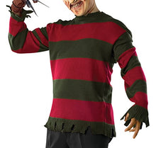 Load image into Gallery viewer, Rubie's Costume Men's Nightmare On Elm St Deluxe Adult Freddy Sweater
