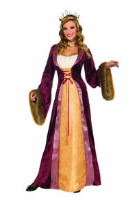 Halloween Costume Deluxe Milady Of The Castle Renaissance Dress