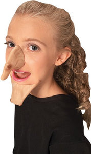 Witch Nose and Chin Set with Warts Makeup Prosthetic Halloween Costume Accessory