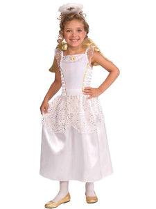 Halloween accessories White and Gold Angel Child's Costume