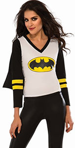 Rubie's Women's DC Superheroes Batgirl Sporty Tee, Multi, Large