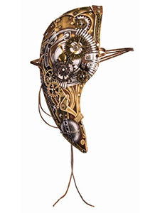 Forum Novelties Steampunk Phantom Half Mask
