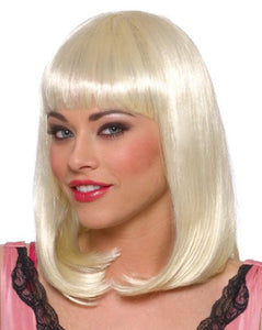 Franco American Novelty Company Adult Accessories Costumes Wigs Womens Long Blonde Bangs Wig