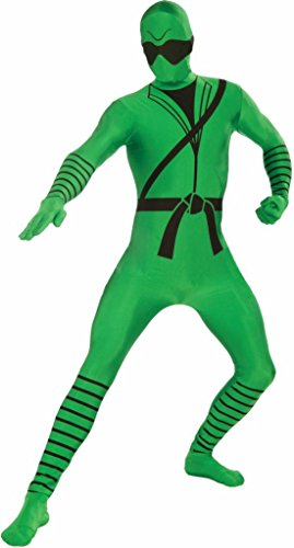 Forum Novelties I'm Invisible Costume Stretch Body Suit, Ninja Print, Child Medium