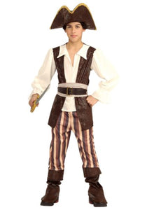 Rubie's Costume Co 882903-L Big Boys' Large Pirate Costume, One Size