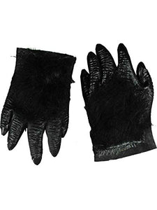 Forum Novelties Unisex Adult Hairy Hands Costume Accessory (1 Pair)