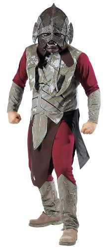 Halloween Costume Uruk-hai Lord of the Rings Two Towers Adult Mens Costume One Size Standard