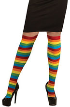 Load image into Gallery viewer, Forum Novelties Rainbow Thigh Highs