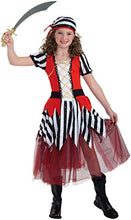 Load image into Gallery viewer, Forum Novelties Playful Pirates High Seas Sweetheart Child Costume, Large