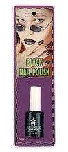 Load image into Gallery viewer, Forum Novelties 13712 Makeup Black Nail Polish, color, One-Size, Multi, Pack of 1