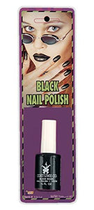 Forum Novelties 13712 Makeup Black Nail Polish, color, One-Size, Multi, Pack of 1