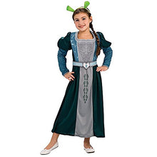 Load image into Gallery viewer, Shrek Child's Costume, Princess Fiona Dress Costume