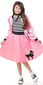 Charades Poodle Girl's Costume Dress