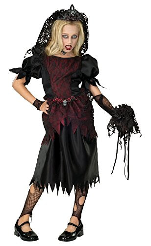 Rubie's Child's Zombie Punk Costume, Prom Queen, Large