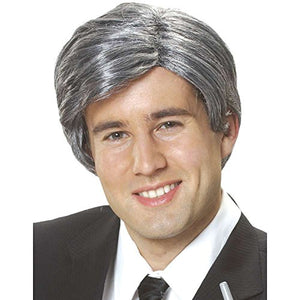 Costume Culture Men's Silver Fox Wig