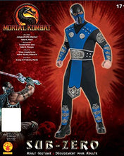 Load image into Gallery viewer, Mortal Kombat Adult Sub-Zero Costume And Mask