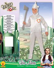 Load image into Gallery viewer, Wizard of Oz Child's Tin Man Costume, Small