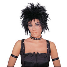 Load image into Gallery viewer, Costume Culture Men's Rocker Unisex Short Rocker Wig