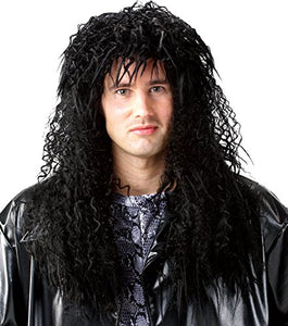 Costume Culture 80's Unisex Headbanger Wig