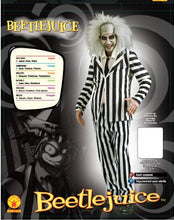 Load image into Gallery viewer, Rubie's Beetlejuice Adult Costume