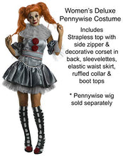 Load image into Gallery viewer, Rubie's IT Movie Women's Deluxe Pennywise Costume