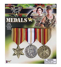 Load image into Gallery viewer, Forum Novelties Combat Hero Medals Standard
