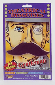 Forum Novelties Gentleman's Moustache Self Adhesive Costume Accessory