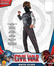 Load image into Gallery viewer, Rubie's Captain America: Civil War Winter Soldier Child Costume