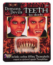 Load image into Gallery viewer, Forum Novelties Demon Teeth Accessory-, Standard