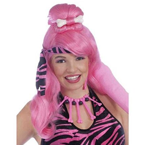 Forum Novelties Prehistoric Princess Wig (Pink) Adult Accessory
