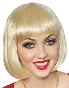 Costume Culture Women's Bob Wig, Blonde, One Size