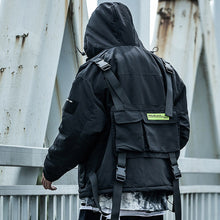"Load image into Gallery viewer, ""Cargo"" Techwear Windbreaker"