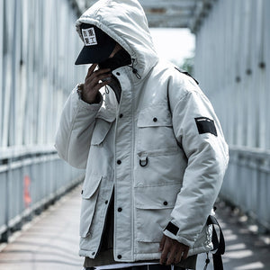 """Cargo"" Techwear Windbreaker"
