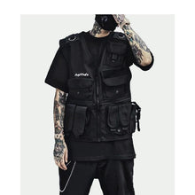 "Load image into Gallery viewer, ""Cargo"" Techwear Vest"