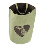 Michigan Heart Beach Bag