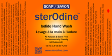 Load image into Gallery viewer, SterOdine™ Iodide 55ml  2 oz Personal Hand wash