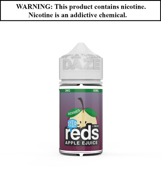 Reds Apple Ejuice - Berries ICED