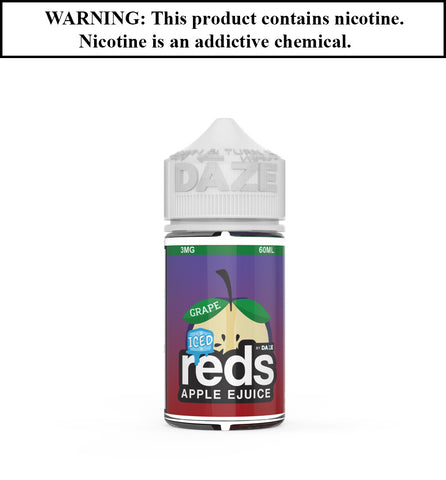 Reds Apple Ejuice - Grape ICED