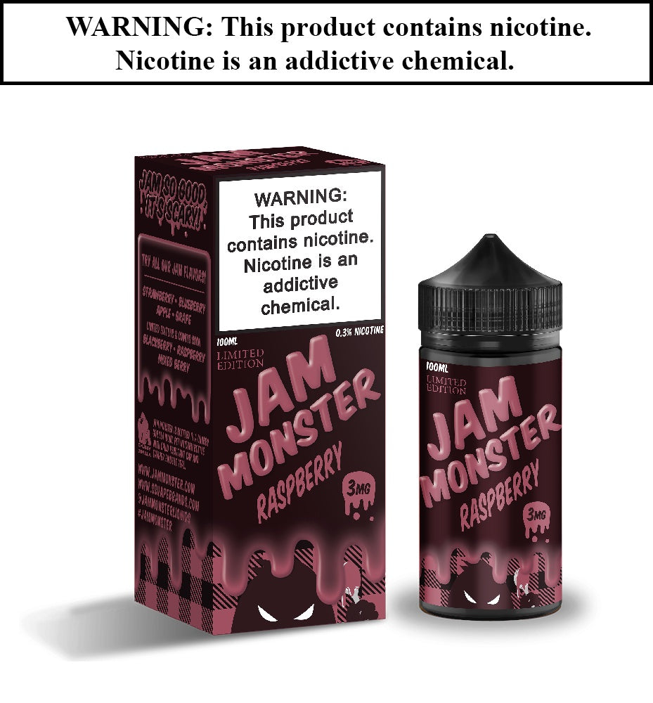 Jam Monster - Raspberry (Limited Edition)