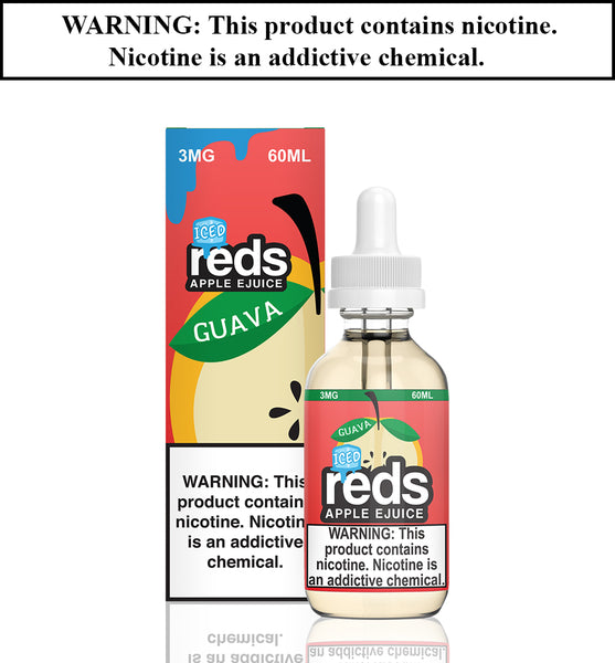 Reds Apple Ejuice - Guava ICED