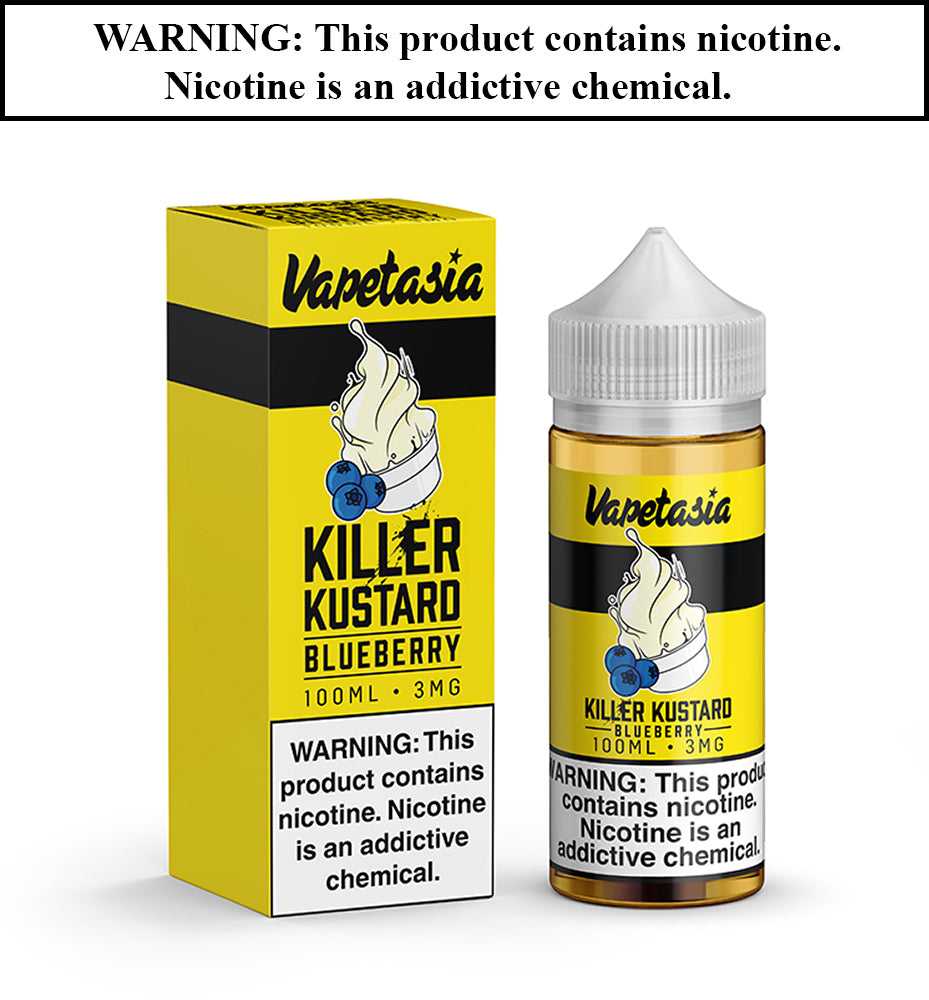 Vapetasia - Blueberry Killer Kustard