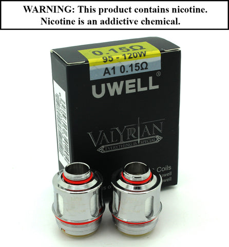 Uwell - Valyrian Replacement Coil 0.15 ohm (Sold Individually)