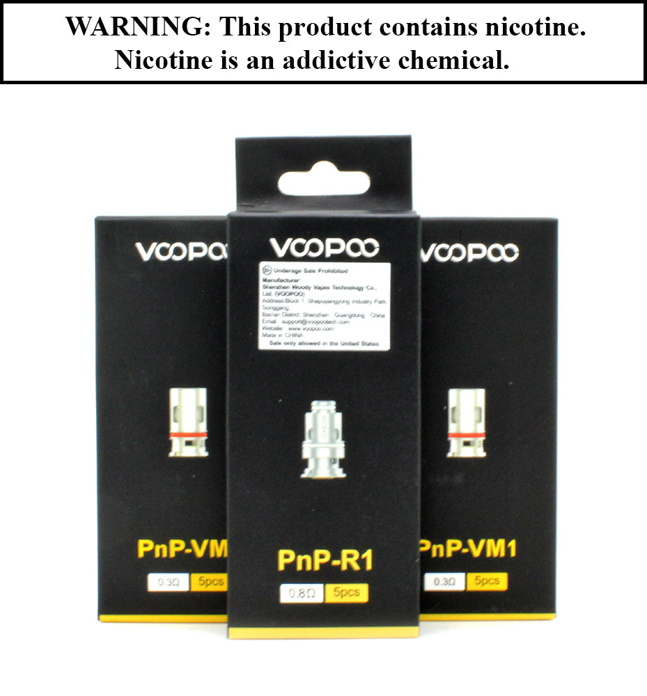 VooPoo - Vinci PnP Replacement Coil (Sold Invidually)
